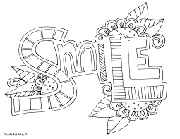 Free Printable Word Coloring Pages From