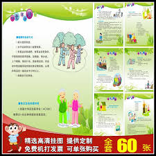 Buy Elderly Health Care Propaganda Wall Charts Knowledge Of