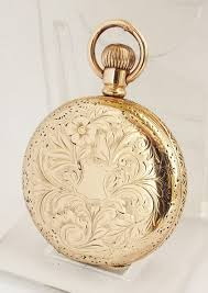 las antique 14ct gold filled waltham fob watch antique and vintage pocket watches