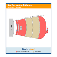 Red Rock Amphitheater Seating Chart Las Vegas Red Rocks Amphitheatre Events And Concerts In Morrison Red