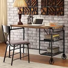 industrial rustic design furniture. Schevron Mid Century Industrial Rustic Design Home Office Computer/ Writing  Desk | Overstock.com Shopping - The Best Deals On Desks Industrial Rustic Design Furniture N