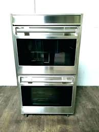 double wall oven gas ovens wolf m series frigidaire trim kit