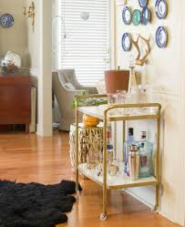furniture contact paper. Glam Up Your Old Bar Cart Furniture Contact Paper