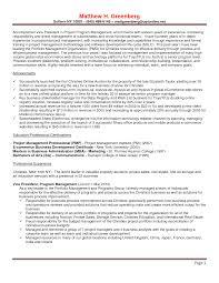 Software Resume Samples Engineer Resume Project Management