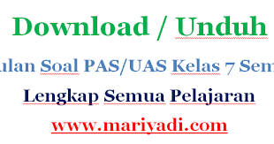 Halo berjumpa lagi dengan materikelas.com yang kali ini akan kembali memberikan kunci jawaban buku paket bahasa indonesia kelas 12 semester untuk halaman 140 sampai halaman 144 (kurtilas). Download Soal Uas Bahasa Sunda Kelas 7 Semester 2 Kurikulum 2013 Dan Kunci Jawaban Mariyadi Com