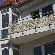 Balkonbespannung Sichtschutz 3m Oder 5m Zwei Motive
