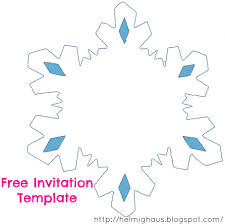 Snowflake Birthday Invitations Diy Snowflake Birthday Invitations Ideas Party High Quality