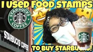 how i starbucks with food sts