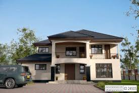 double y house plans za unique modern house plans