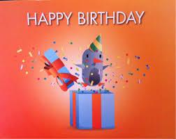 Folded Birthday Card Learn From Real Life Birthday Card Marketing