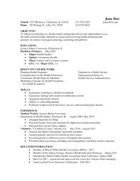 Psychology Resume Example Clinical Resumes Graduate Samples