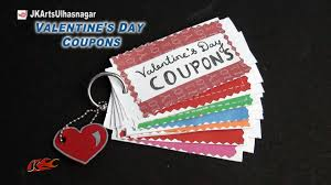 diy love coupon book valentine s day gift idea jk arts 857 diy love coupon book valentine s day gift idea jk arts 857