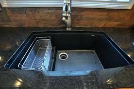 Fantastic How To Clean A Black Granite Sink 6 Composite Sinks  Vs Stainless Steel Kitchen Granite Composite Sink Vs Stainless Steel S87
