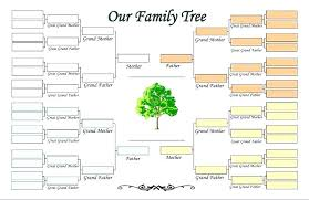 template office microsoft family tree template nppa co
