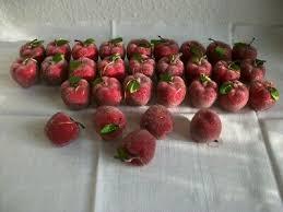 12 Rote äpfel Christbaumschmuck Apfel Christbaumkugeln