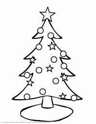 Small Picture Coloring Pages Christmas Tree Stars Coloring Pages