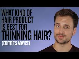 thinning hair which styling s are best expert advice