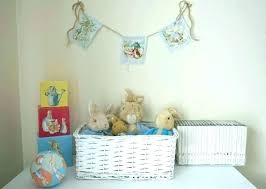 peter rabbit nursery potter baby bedding decor rhyme time peter rabbit nursery