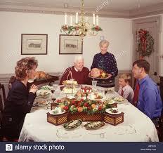 Feier Urlaub Sonntag Abendessen Esszimmer Thanksgiving