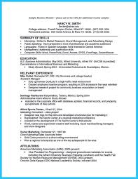 Bachelor Of Business Administration Resume Business Administration