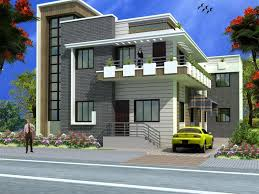 image of front elevation of house design in india house plans and ideas throughout house