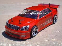Lexus Ls Custom Painted Rc Touring Car Rc Drift Car Body