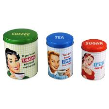 Retro Kitchen Canisters Kitchen Canisters Jars Wayfair Tunisian Sunset Biscuit Jar Cubtab