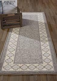 diagona designs contemporary moroccan trellis border design non slip kitchen bathroom hallway area