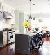 galley kitchen with island at end. dreamy space-smart kitchens. kitchens with islandsgalley galley kitchen island at end