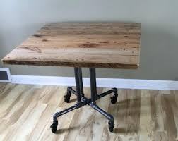 full size of reclaimed wood rectangular pedestal dining table round cafe style cocktail bar kitchen marvellous