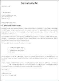 Employment Separation Letter Template Employment Separation