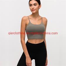 China Breathable Wholesale <b>Women Sexy Ladies Sport</b> Vest ...