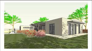 Visite Virtuelle La Maison Contemporaine Plain Pied Ref 14153 D