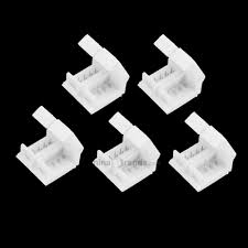 ZDM <b>5PCS</b> 4 Pin 10mm Width Solderless Connectors for <b>Waterproof</b> ...