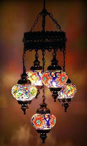 turkish chandelier 5 mosaic lamp chandeliers dubai