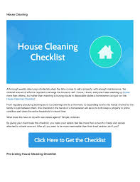 cleaning checklists 8 free real estate checklists to maximize your profits