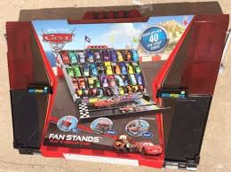 Disney Cars Fan Stand Display Case UPC 100 Disney Pixar Cars 100 Fan Stands Play N Display 34