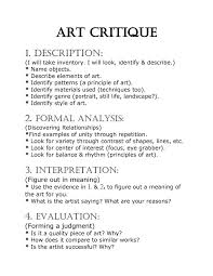 art critique example essay narrative essay example essays  search for theses at european physics write art critique essay departments one example einstein to quote