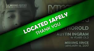 UPDATED: MISSING TEEN • Austin Ingram • Thorold, Ontario • 16 Years Old •  Ontario Missing Report