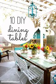 diy dining room decor. Beautiful Room DIY Dining Tables On Diy Dining Room Decor
