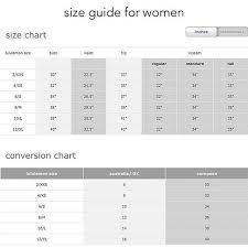 Nathan Size Chart Lululemon Size Chart In 2019 Lularoe Size Chart Lululemon