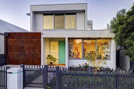 Townhouse Designs Melbourne Fasham Brunswick Home Architecturally Designed Homes Home