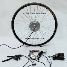 26inch 36v 250w rear electric bike kit