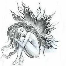 Tetování Anděl S ďáblem V Těle