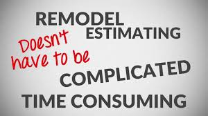 Remodel Estimating Spreadsheet Remodel Cost Estimating Spreadsheet Software Youtube