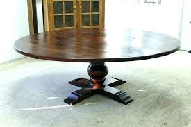 inch round wood pedestal dining table furniture modern contemporary 60 photos gallery of finding solid