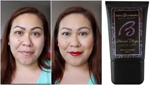 kaite b cosmetics mineral magic foundation demo review
