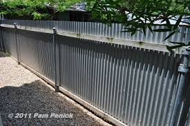 how to build a metal fence pictures