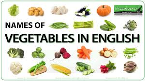 vegetables names list. Exellent List To Vegetables Names List T