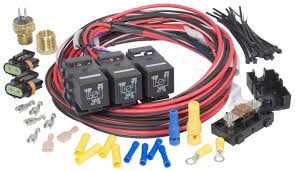 painless wiring 30117 dual activation fan relay painless wiring cj7 Painless Wiring #41